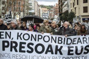 Otegui se muestra exultante y anuncia manifestación de fuerza para el 20N